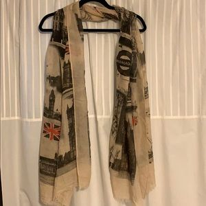 London themed Scarf